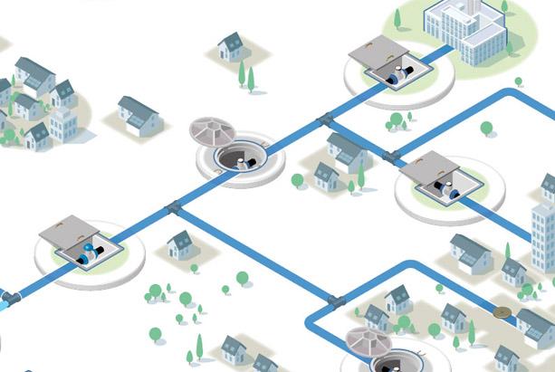 redes de distribución de agua